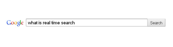 Real Time Search